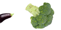 Diversas verduras frescas
